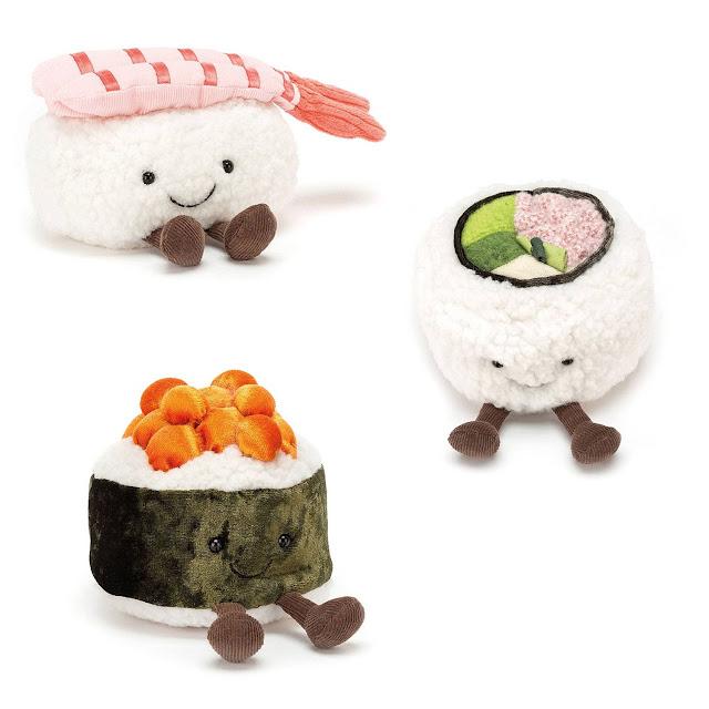 sushi knuffel jellycat