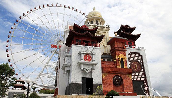 Công Viên Châu Á - Khu vui chơi lớn nhất nội thành Đà Nẵng