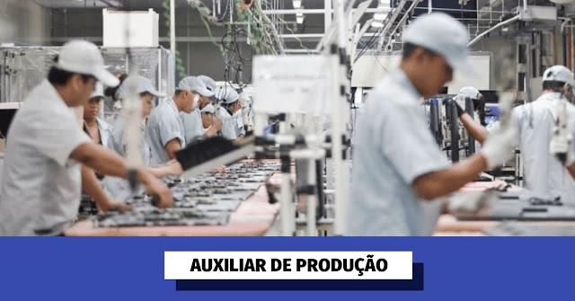 auxiliar de produção em curitiba/pr