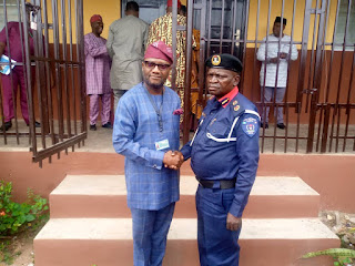 NSCDC, OGSIEC RESTATE COMMITMENT FOR MUTUAL RELATIONSHIP