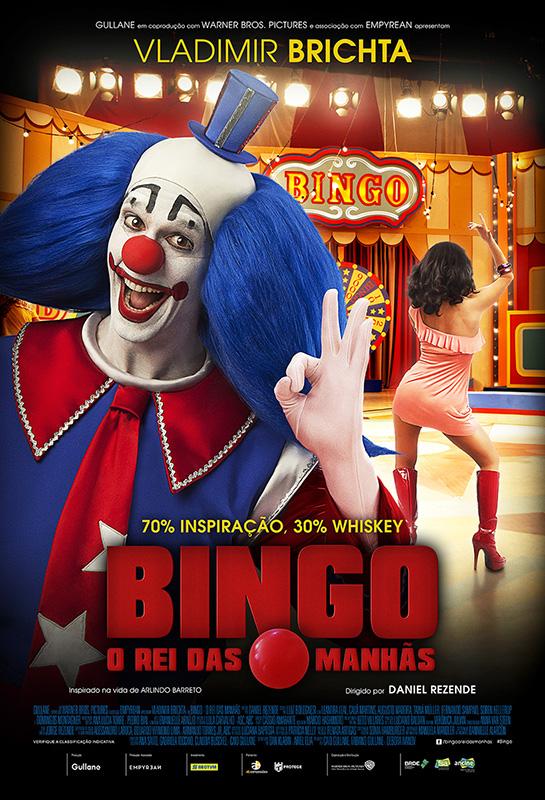 Capa Bingo O Rei das Manhãs Torrent 720p 1080p Nacional Baixar