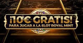 paston regalo 10 euros slot Royal Mint hasta 25-10-2020