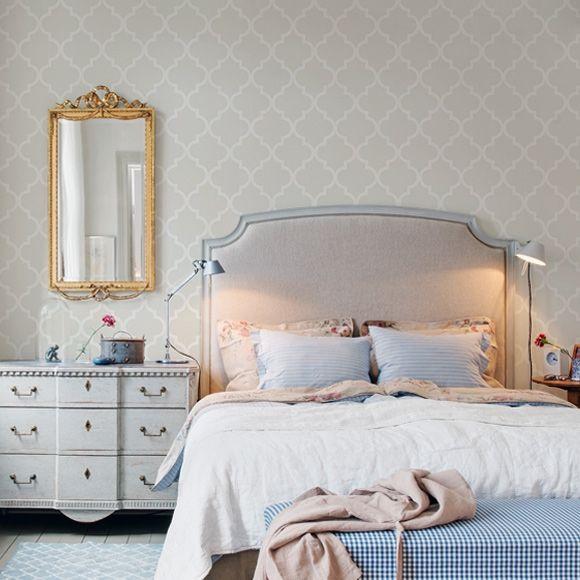Wallpaper Dinding Kamar Tidur Minimalis Nuansa Kalem