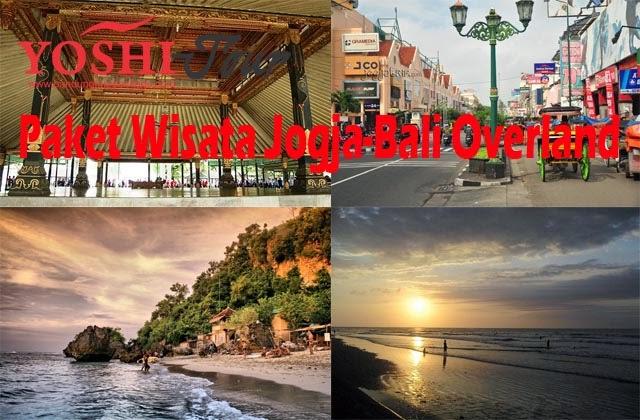 Paket Wisata Jogja Bali Overland Yoshi Tour Bandung