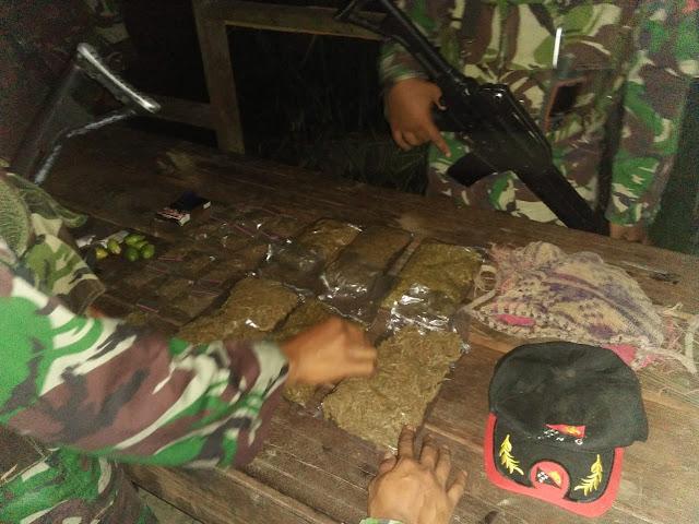 Satgas Yonif Para Raider 501 Kostrad Gagalkan Transaksi Narkoba