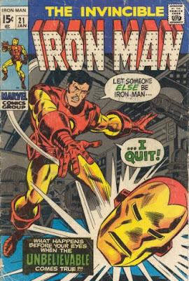 Iron Man #21, I Quit!