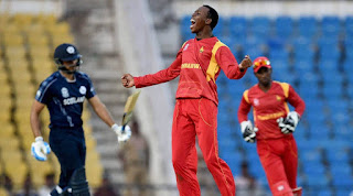 Zimbabwe vs Scotland 5th Match ICC World T20 2016 Highlights