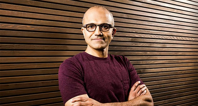 microsoft chooses its next ceo inheritent the cloud and enterpise head mr.satya nadella