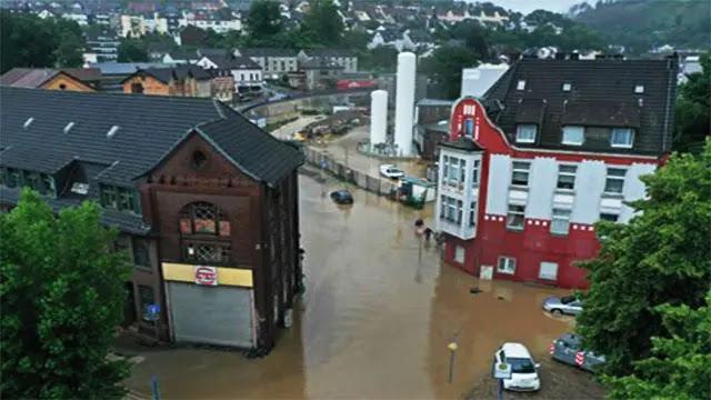 فيضانات تضرب جنوب غرب ألمانيا وتتمدد الى مناطق أخرى من البلاد