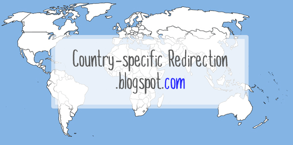 blogspot country redirection