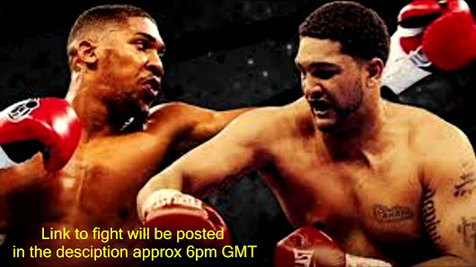 AxFixes:  Anthony Joshua knockout Dominic Breazeale in 3 round
