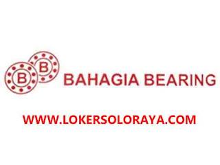 Loker Solo Raya Pengiriman, Marketing, Customer Service, Gudang di Bahagia Bearing