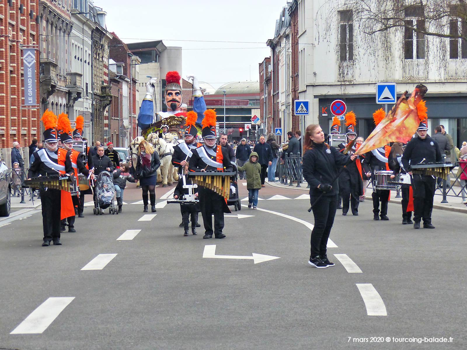 Reuze de Dunkerque, Tourcoing 2020