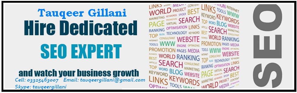 SEO Consultant Islamabad | SEO Consultant Services Islamabad