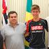Projeto esportivo de estudante do Sesi pode resultar em parceira com Prefeitura