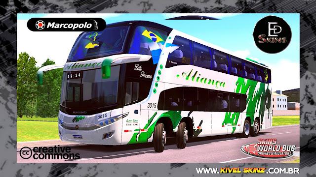 PARADISO G7 1800 DD 8X2 - VIAÇÃO ALIANÇA TURISMO (CHILE)