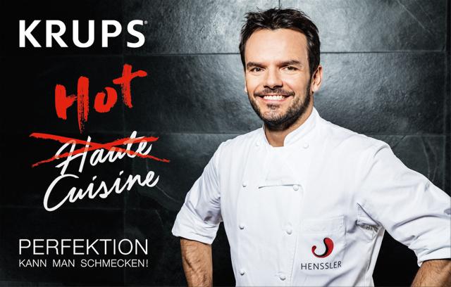 Steffen Hensser, Hot Cuisine, KRUPS