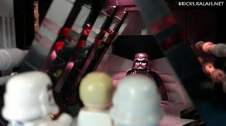 [MOC] Gwiezdne Wojny - Vader zabija admirała Harkova