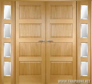 giá cửa gỗ Sồi mỹ