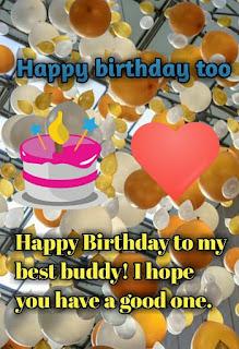 Happy birthday for family