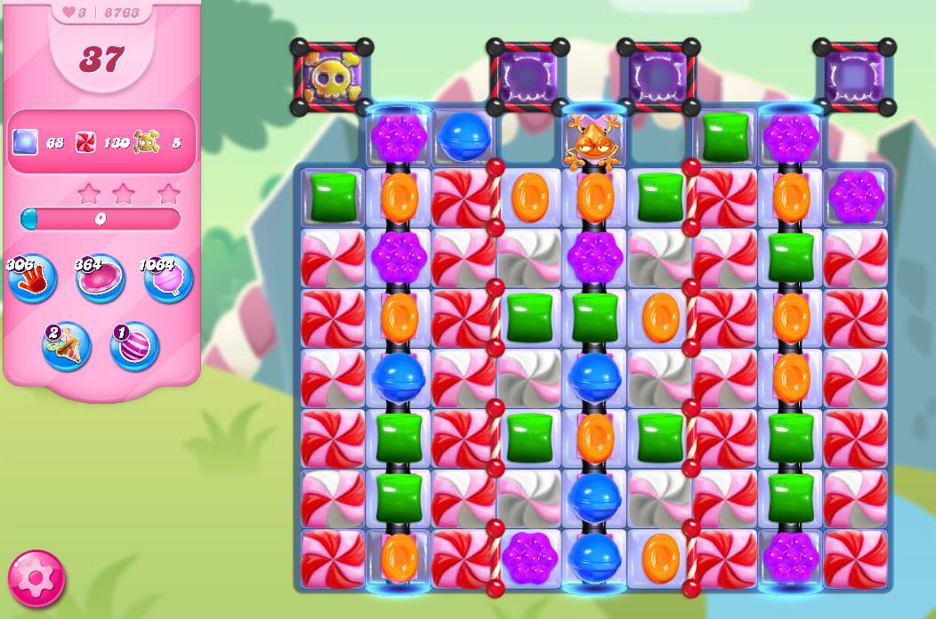 Candy Crush Saga level 8763