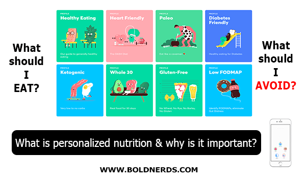 What is Personalized Nutrition & Why is it Important? | boldnerds.com