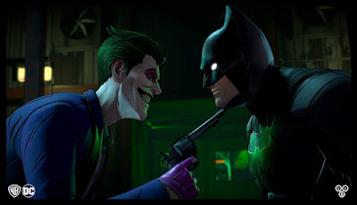 the game Batman The Enemy Within The Telltale Series Shadows Edition
