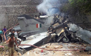 fighter jet crash jodhpur
