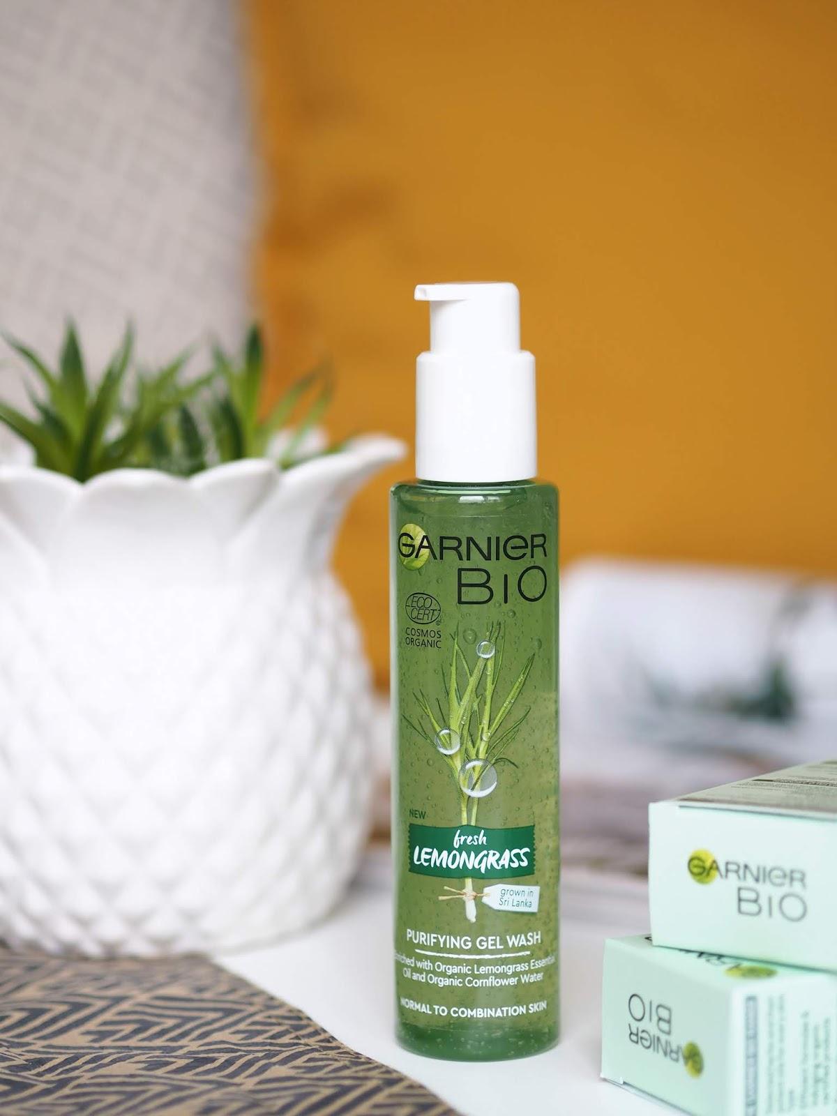 Garnier Bio Fresh Lemongrass Purifying Gel Wash čistiaci gél normálna zmiešaná pokožka