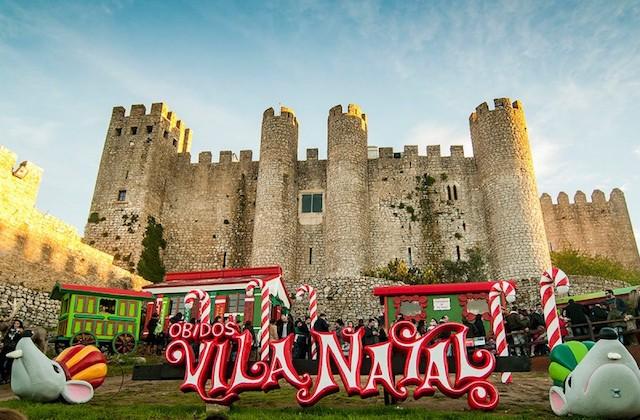Vila Natal em Óbidos