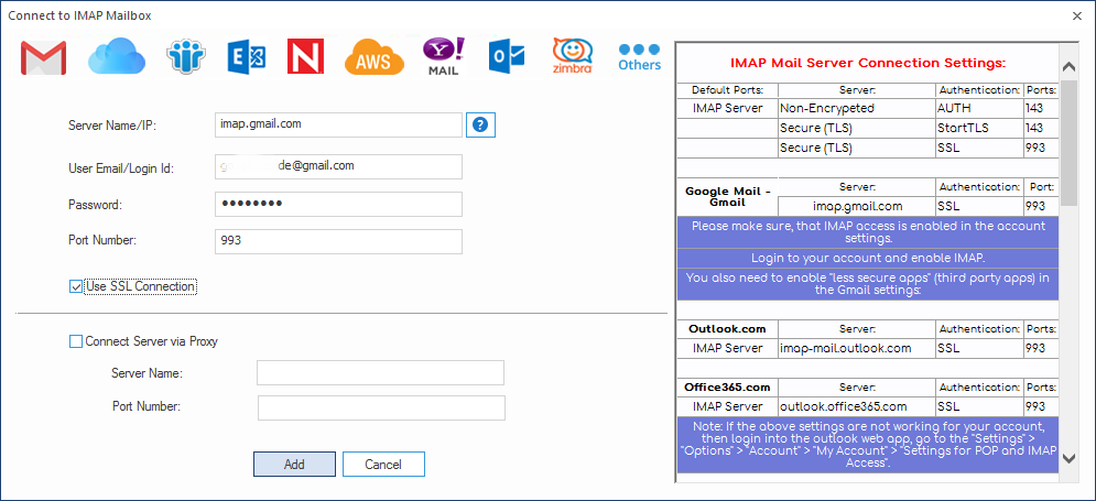 Gmail Imap Uid