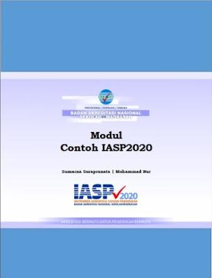 Modul Contoh Instrumen Akreditasi Satuan Pendidikan IASP Tahun 2020