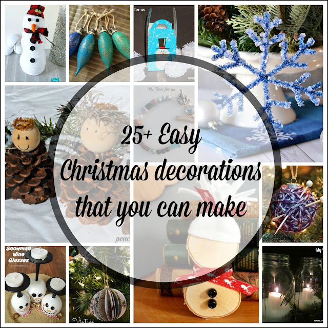 Handmade Christmas Decorations and Unique Christmas Ornaments