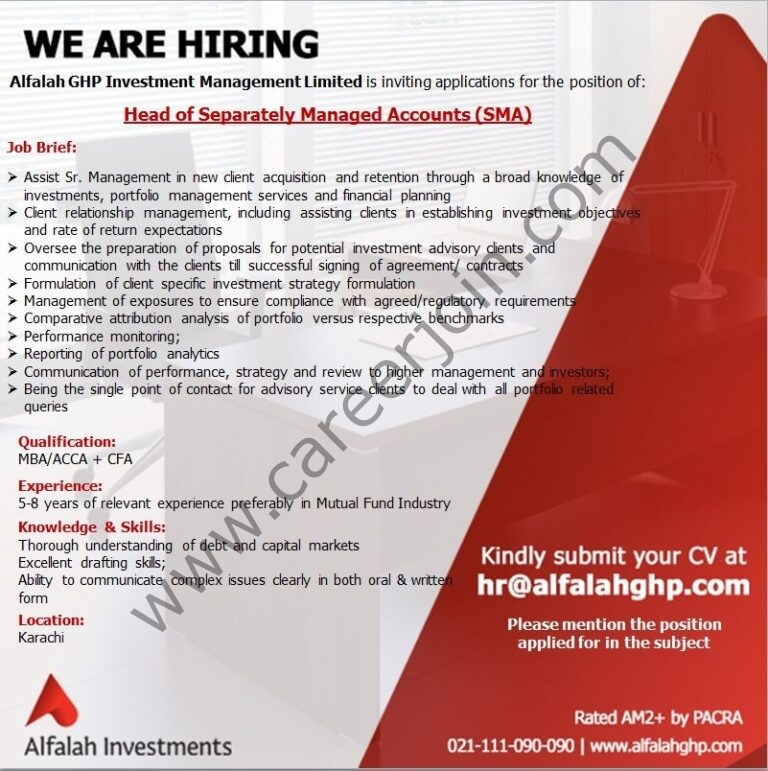 Alfalah GHP Investment Management Ltd