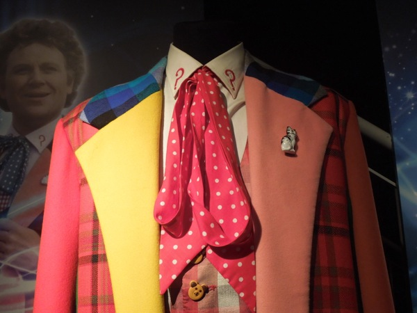 Sixth Doctor Who costume cravat