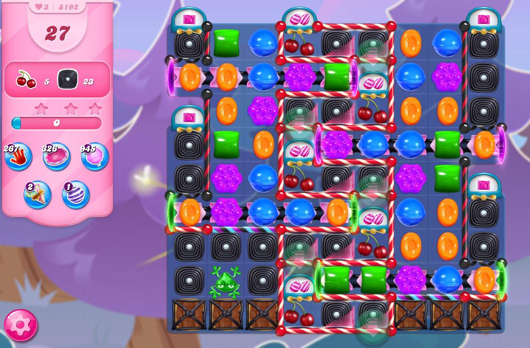 Candy Crush Saga level 8192