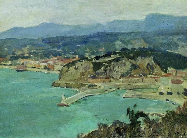 Исаак Ильич Левитан - Озеро Комо. Италия. 1894