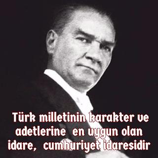 atatürk sözleri cumhuriyet  bayramı capsler