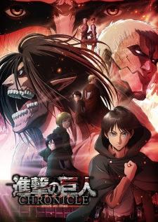 فيلم انمي Shingeki no Kyojin: Chronicle مترجم بعدة جودات