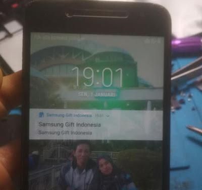 Mengatasi Samsung J260G Sinyal Bulat