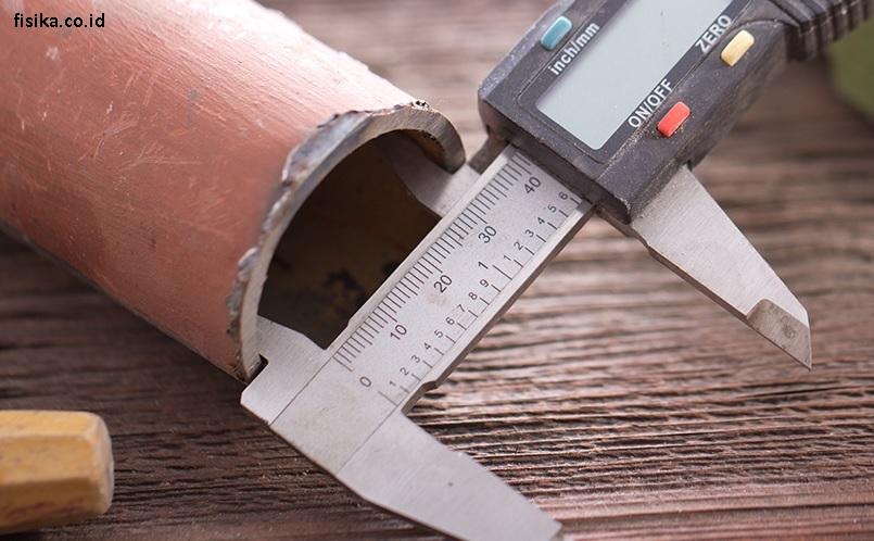 Mengukur Diameter dalam Pipa