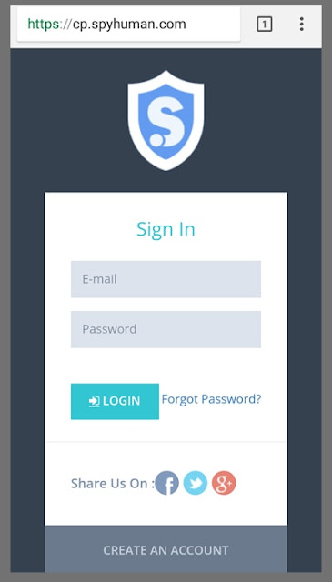spyhuman app login