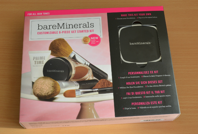 BareMinerals customizable 8 piece get started kit*