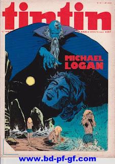 Tintin numéro 42, 1975, Michael Logan