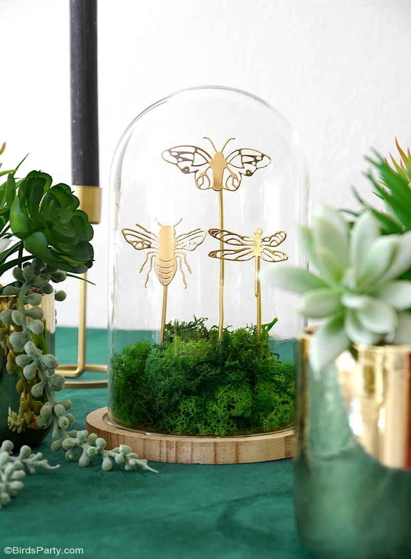 A Botanical Tablescape with 5 DIY Projects