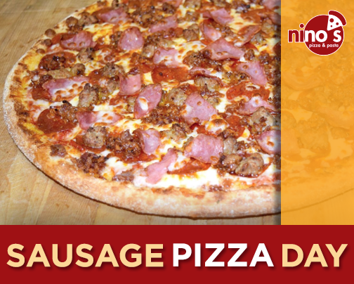 National Sausage Pizza Day Wishes Pics