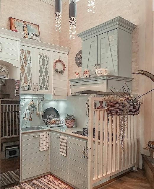 Desain Dapur Cantik Minimalis Modern Terbaru