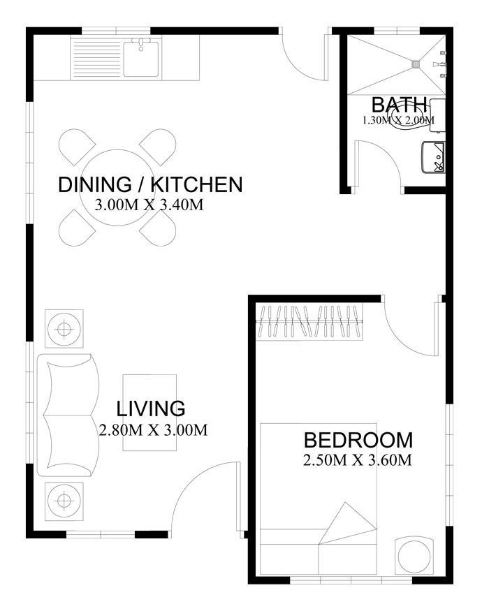 pinoy houseplans 2014002 floor plan