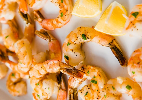 HEALTHY LEMON BAKED SHRIMP RECIPES