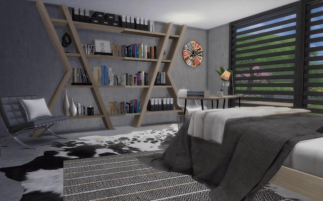 chambre Sims 4